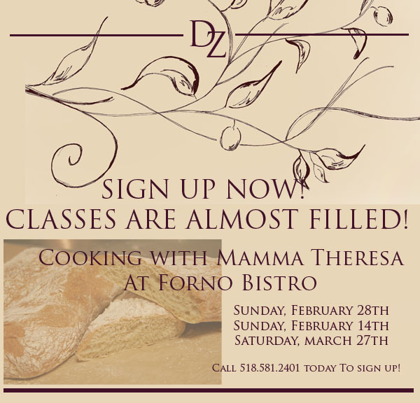 Mamma Theresa's Cooking Classes.