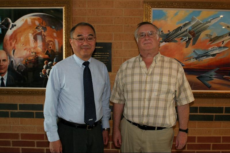 SWOSU Sonobe and Bill Kelly