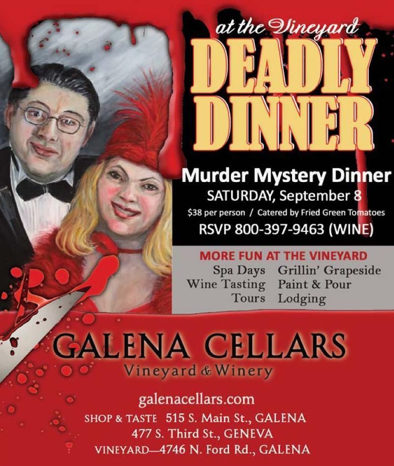 Galena Cellars Murder Mystery