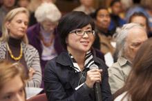 Ikeda Forum questioner