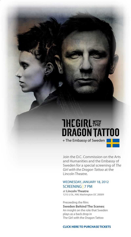 Dragon Tatoo General Admission