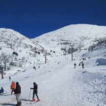 Skiing on Mount Hermon (ICEJ Staff photograph)