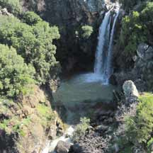 Sa'ar Falls on the Golan Heights (ICEJ Staff photograph)