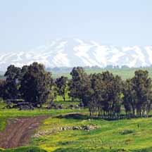 Golan Heights (IDF Spokesperson's Office)