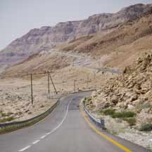 Israeli built road in the Negev (ICEJ staff photograph)