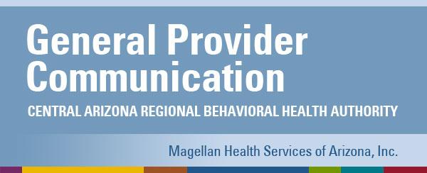 General Provider Communication