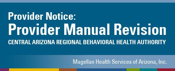 Provider Notice