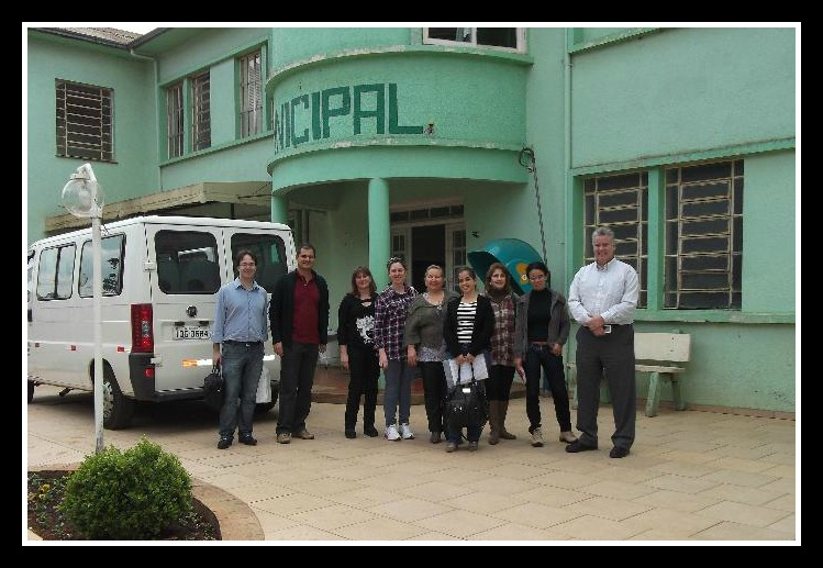 Fig 1. Ibirariaras Hospital and TeleECG Team