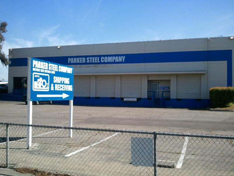 Parker Steel Fresno,CA Warehouse
