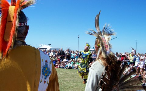 va indian pow wow