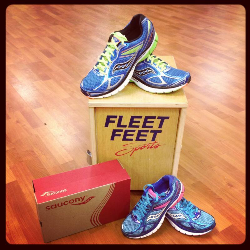Youth | Saucony Guide 7 Girls | Fleet Feet