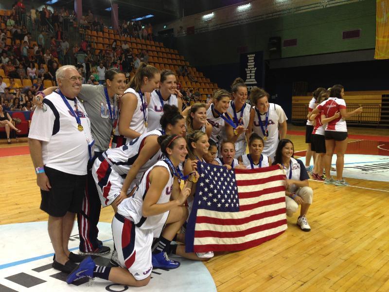 Open Women's Basketball Gold Medal