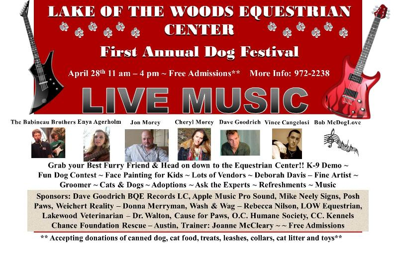 Dog Fest Poster 2012