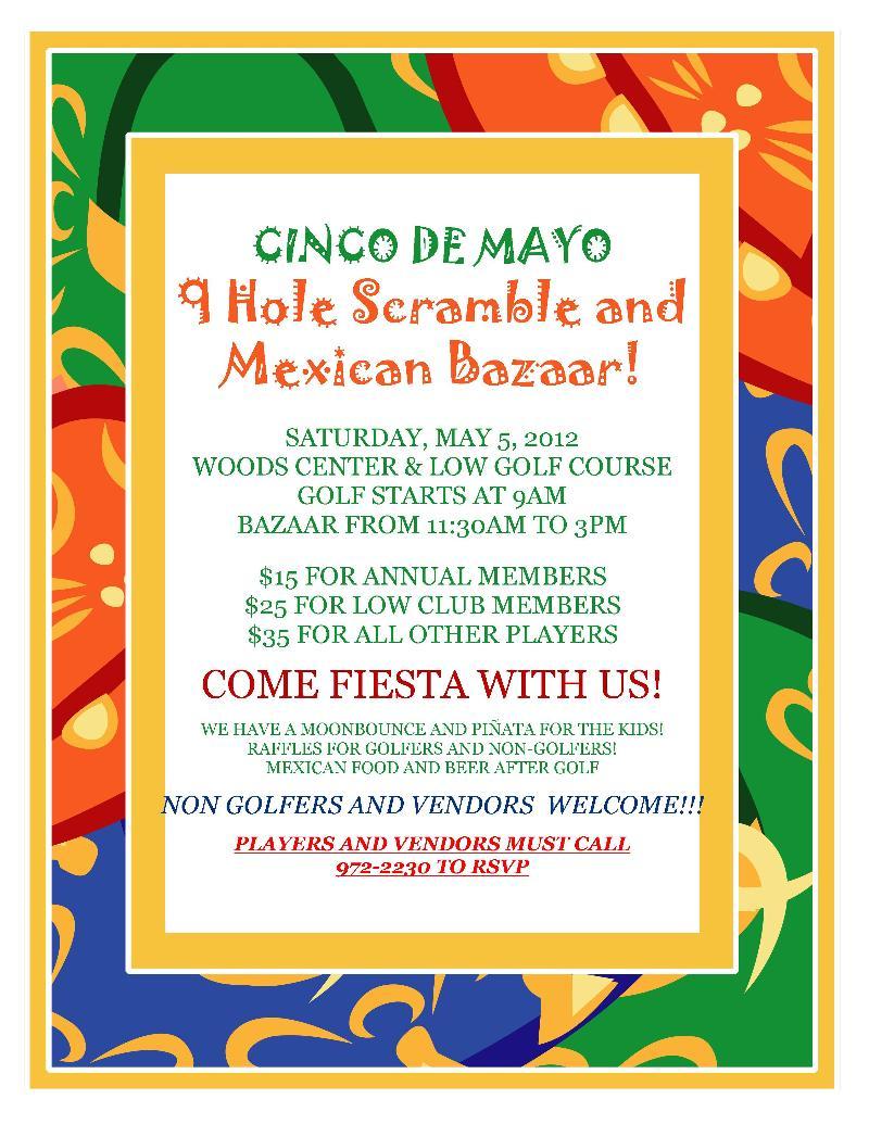 Cinco De Mayo Golf & Bazaar 2012