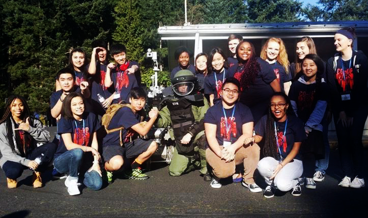 ALY '15 with FWPD Bomb Squad