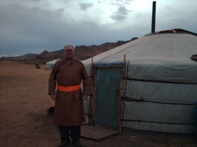 Dr. Kenner in Mongolia