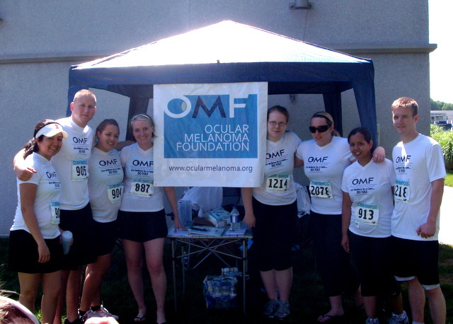 Warriors running a race for the OMF