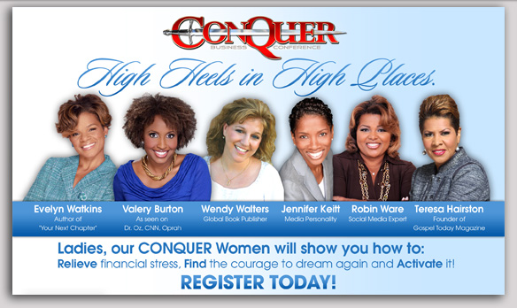 Conquer Atlanta - Women's Panel - Jillian Blackwell Agency - My Girlfriends' Business