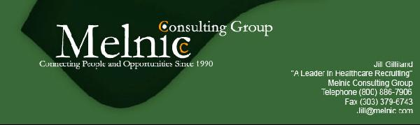 New jobs for you at Melnic Consulting Group