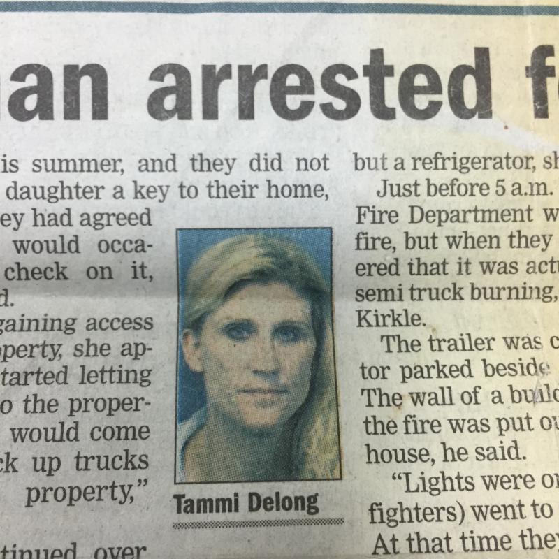 Tammi Arrested