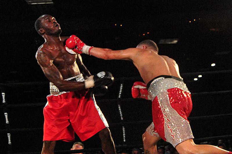 Frankie De Alba Naim Nelson Ryan Belasco Boxing Results Press Room
