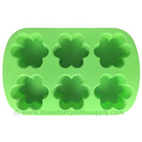 Silicone Flower Mold  6 count