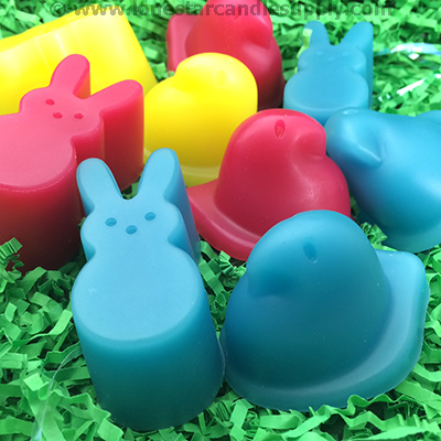 Silicone Easter Peeps  Molds