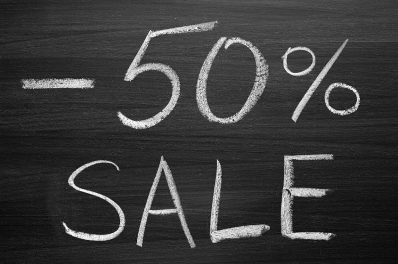 Chalkboard Sale