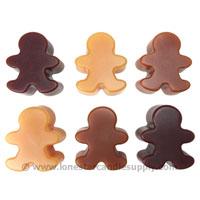 Gingerbread Boy Wax Tarts
