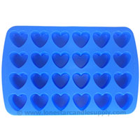 Silicone Heart Mold 24 count