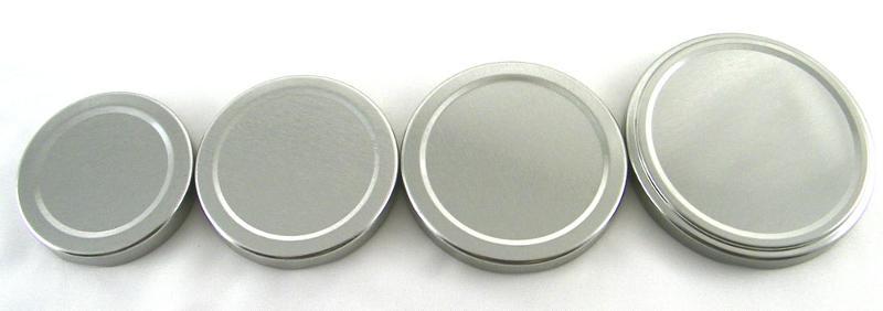 Silver Twist Lids