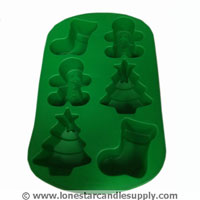 Stocking-Tree-Boy Silicone Mold
