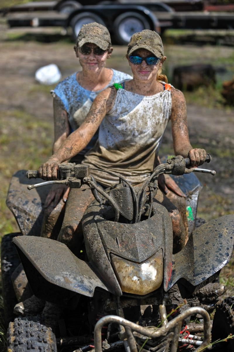 girls on ATV