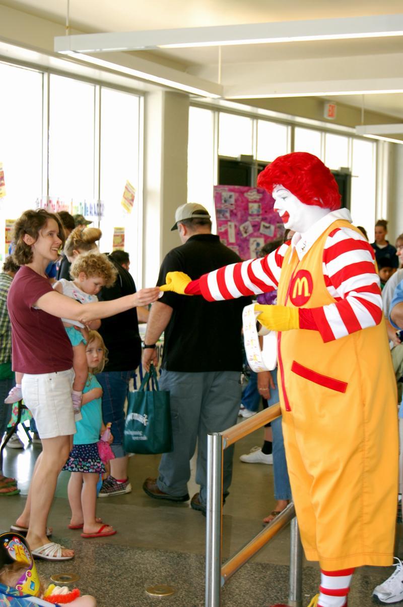 Ronald McDonald at Kidfest