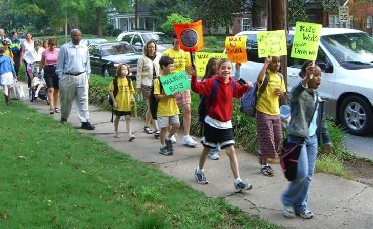 Decatur Walking School Bus