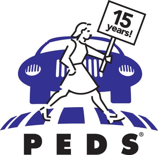 PEDS 15-year logo