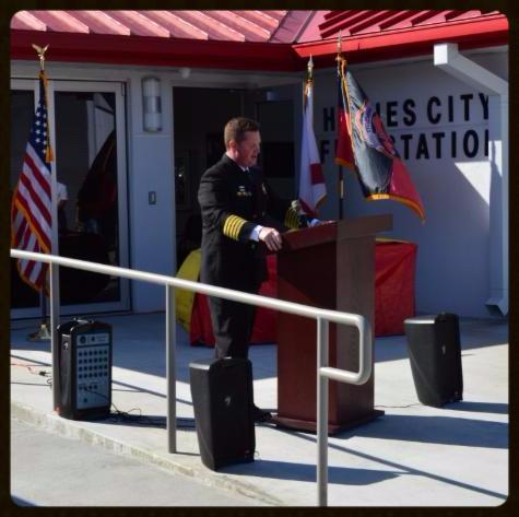 Assistant Fire Chief Stuart McCutcheon