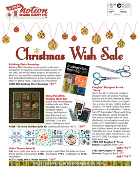 2011 Christmas Flyer