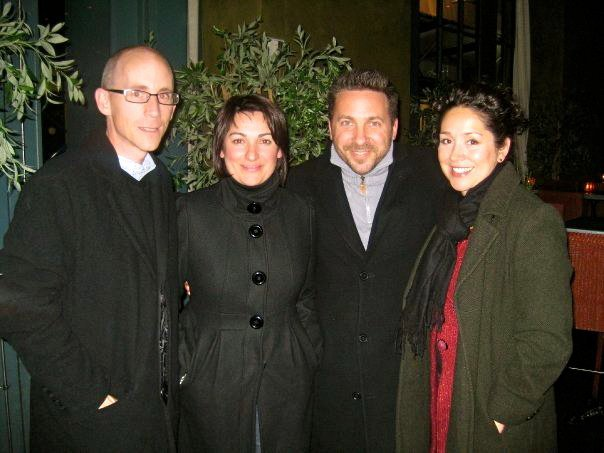 Peter, Catarina, Aaron and Adria in NYC