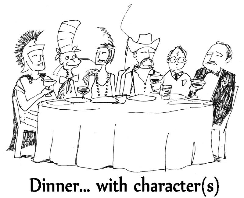Dinner with Character