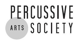 PERCUSSIVE ARTS SOCIETY