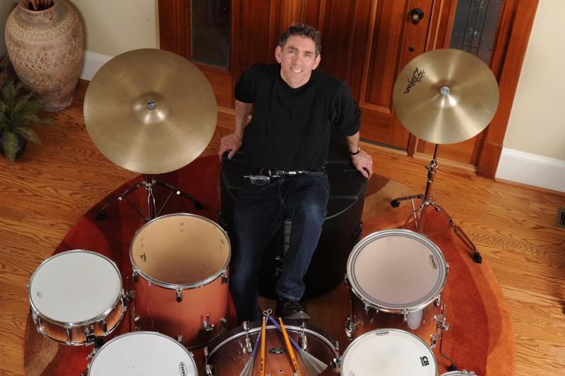 Evan on Drums