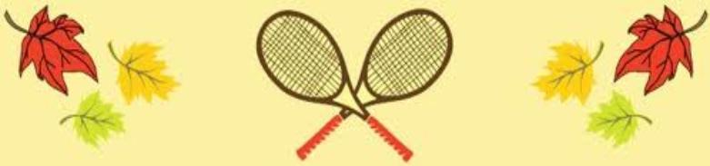 Image result for fall tennis