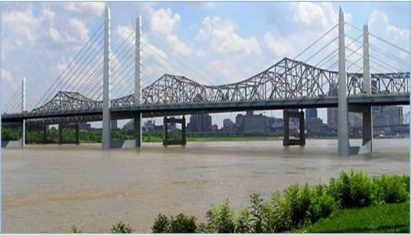 downtown bridges