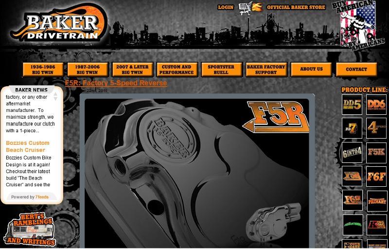 BAKER Drivetrain Online!