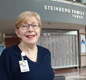 Chief Privacy Officer Rita Reynolds leads and ensures the protection of patient  personal health information at North York General Hospital.