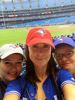 The stadium medical team at Blue Jays games in Toronto is composed primarily of North York General Hospital health care professionals.