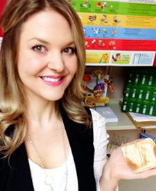 NYGH Registered Dietitian Laura Goodwin says a handy tool for measuring your food is your hand.