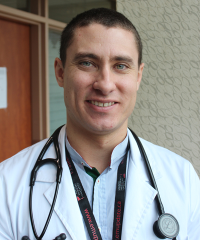 Dr. Rowan Henry, family medicine resident at North York General Hospital