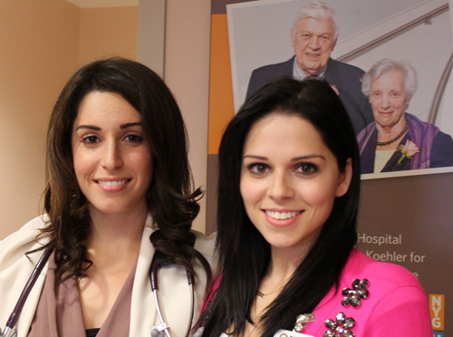 NYGH family physicians Drs. Kimberly Lazare and Tiffany Florindo are accepting new patients.